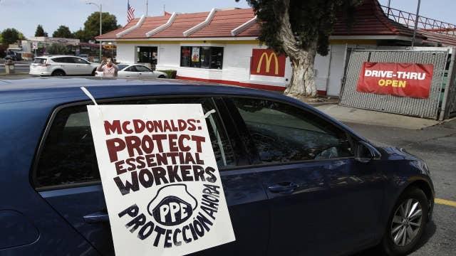 Coronavirus social distancing inside McDonald's restaurants 'can be managed': Ed Rensi