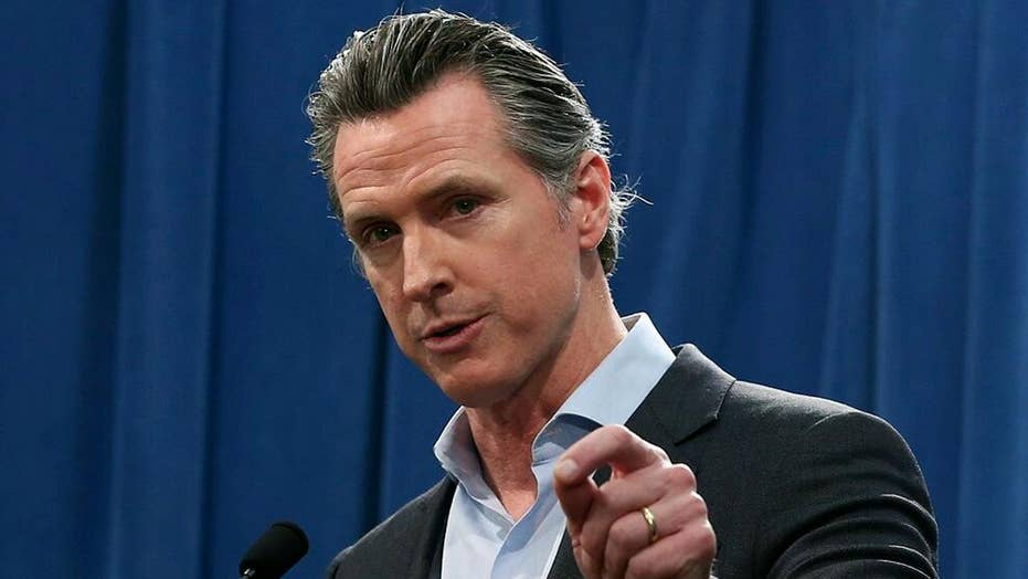 Why did Gov. Newsom make a contract with a Chinese car company?