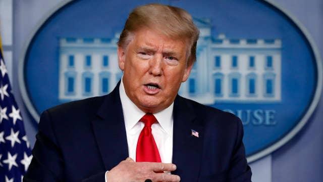Trump believes economy will 'boom' after coronavirus