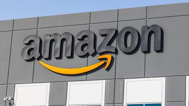 Stocks end near session highs; Amazon hits record high