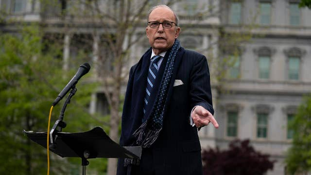 Kudlow: Pumping $9T rescue package into economy