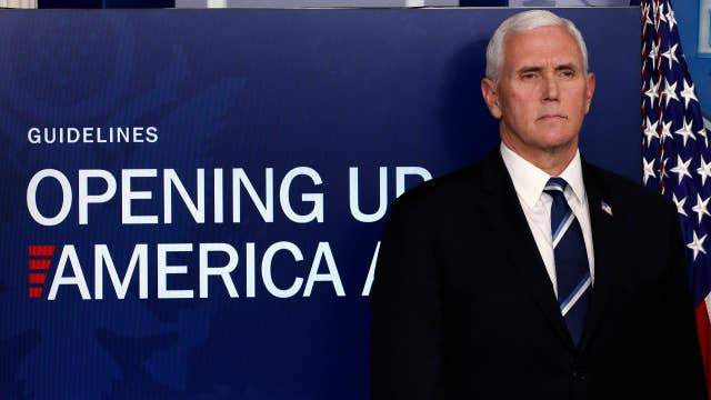 Pence explains reasoning behind new guidelines for reopening America