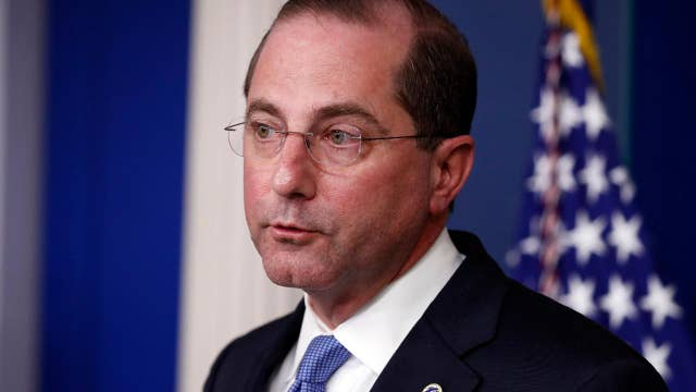 People who lost their jobs, insurance can enroll in health care: Azar