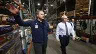 Pence tells Walmart workers 'you're making the difference' amid coronavirus