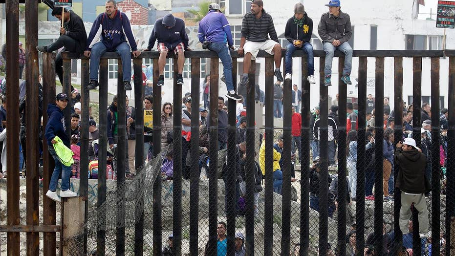 How much could illegal immigration spike at southern border?