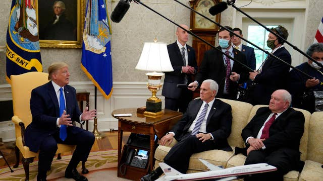 Trump, Pence promise to protect meat plant workers
