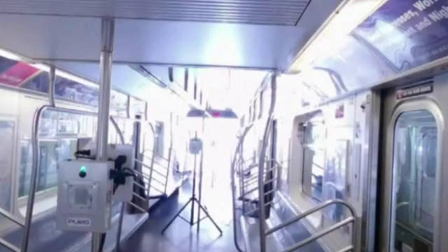 How one company is zapping germs away on transit systems