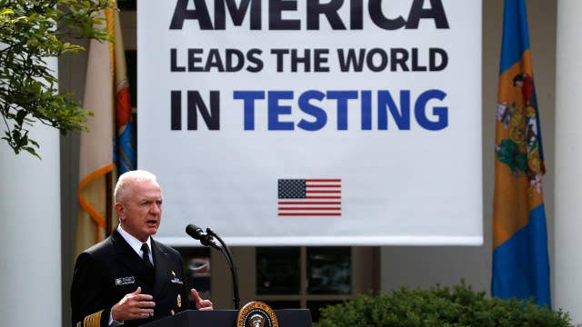 US is doing testing like no other country: Admiral Giroir