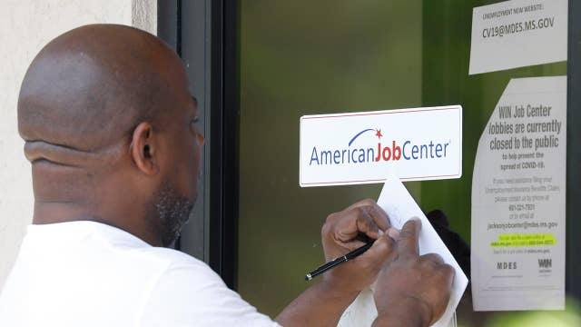 2.98M Americans applied for unemployment last week