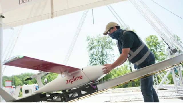 FAA approves Zipline's drone delivery service for coronavirus medical supplies