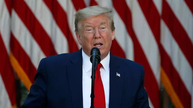 Trump: I think we'll have coronavirus vaccine by end of year