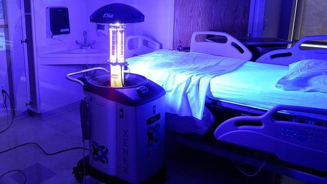 Germ-zapping 'robots' kill coronavirus bacteria instantly: Xenex CEO