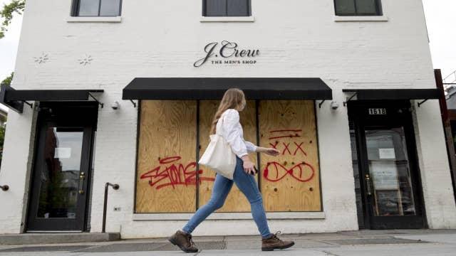 J. Crew files for bankruptcy amid coronavirus