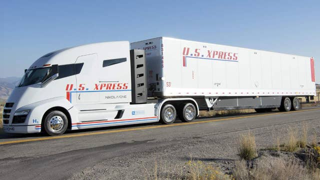 Nikola anticipates production of electric, driverless truck by 2021