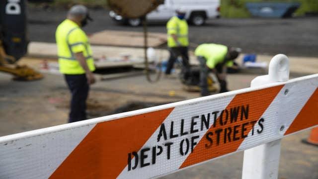 Allentown, Pennsylvania battles financial hardship with lack of coronavirus aid