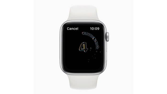 New Apple Watch feature ensures you wash your hands for 20 seconds