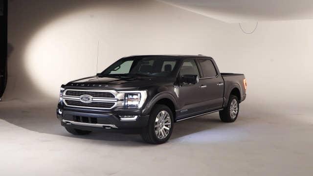 Ford unveils new hybrid F-150
