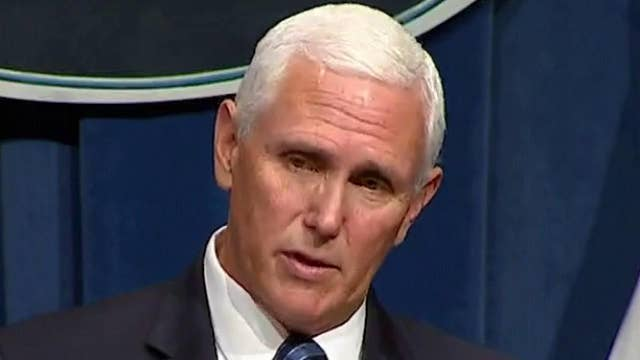 Pence: Want to open economy while taking steps to protect lives