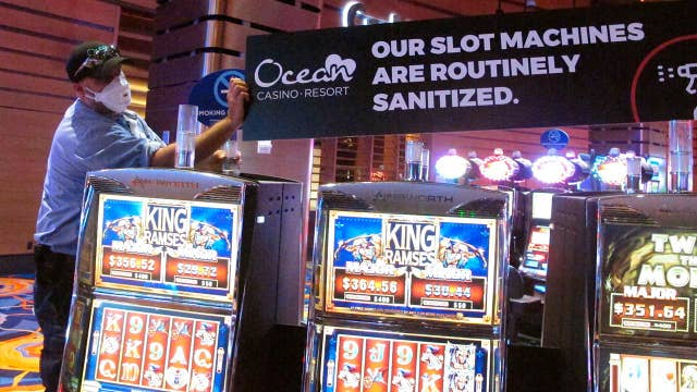 New Jersey to reopen casinos at 25% capacity