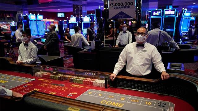 Las Vegas casinos reopen with coronavirus safety measures