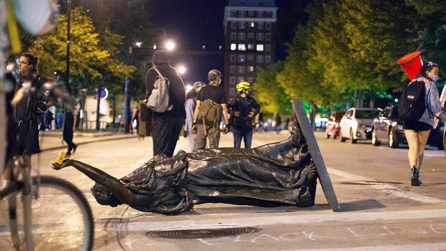 Pastor Darrell Scott: Protesters toppling statues for the 'sake of violence'