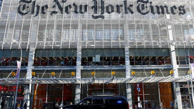 New York Times published 'hit piece' to attack Trump