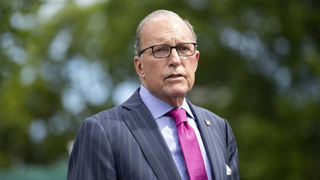 Kudlow: Direct payments, tax rebates 'on the table' for Americans who lost jobs