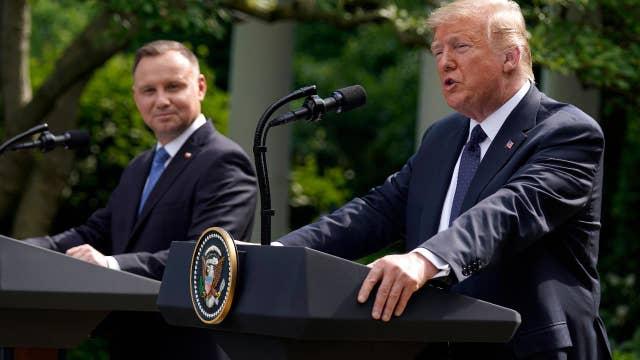 Trump applauds Poland's border security, 5G development, NATO participation