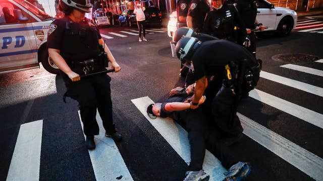 NYC police union vows to sue protesters who attack cops