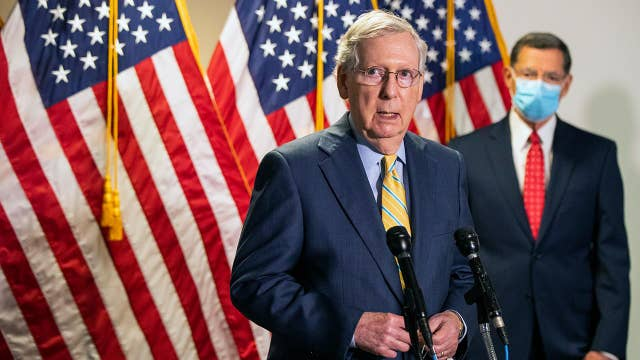 Increasing pressure mounting on McConnell to pass fourth stimulus before August recess: Gasparino