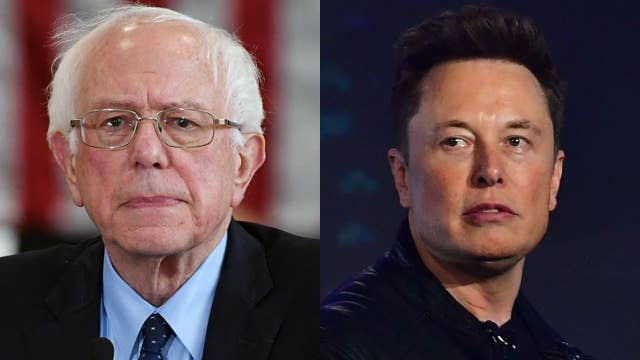 Bernie Sanders calls Elon Musk a 'hypocrite' on Twitter