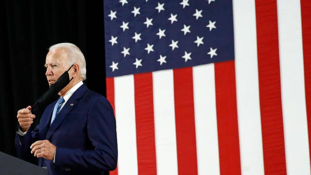 Would a Biden presidency be a 'danger' to the stock market?