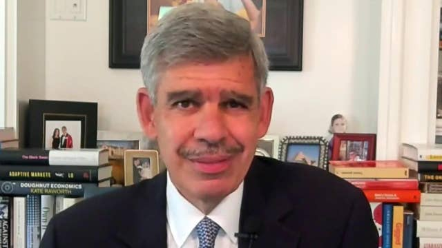 El-Erian worried economy is leveling off versus recovering strongly