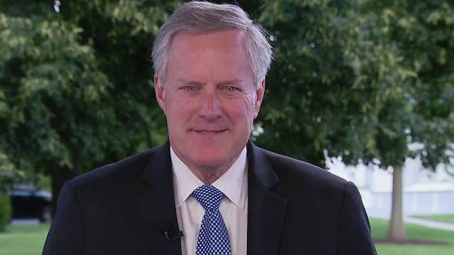 Mark Meadows: Trump strives for 'America first' initiative