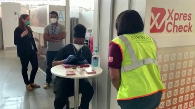Airport spa company pivots to coronavirus testing