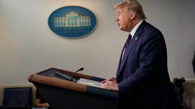 Trump: US is 'leading the world' in coronavirus testing