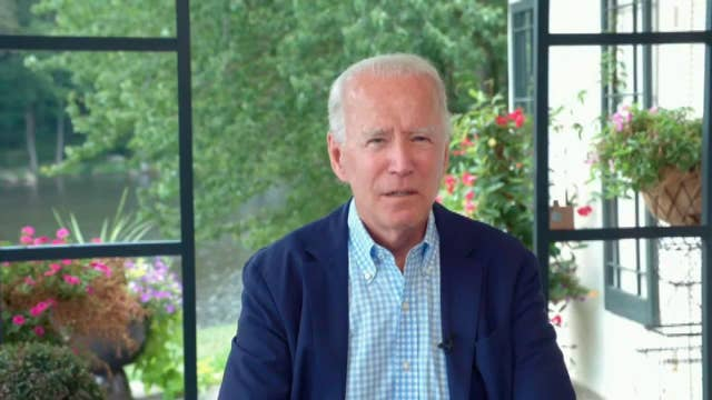 Biden reassures Wall Street he'll help them if elected