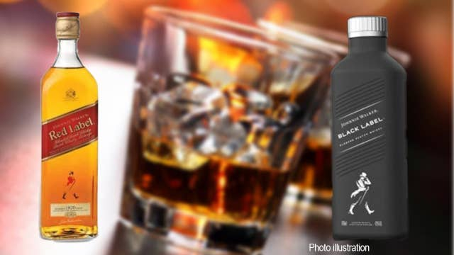 Johnnie Walker to be sold in paper bottle