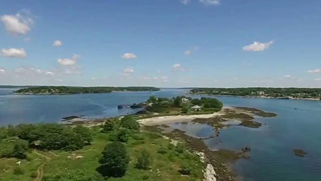 Rent an entire island off Maine for a quarantine vacation