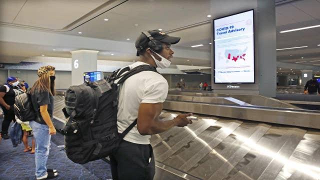 Air travel starting to take off
