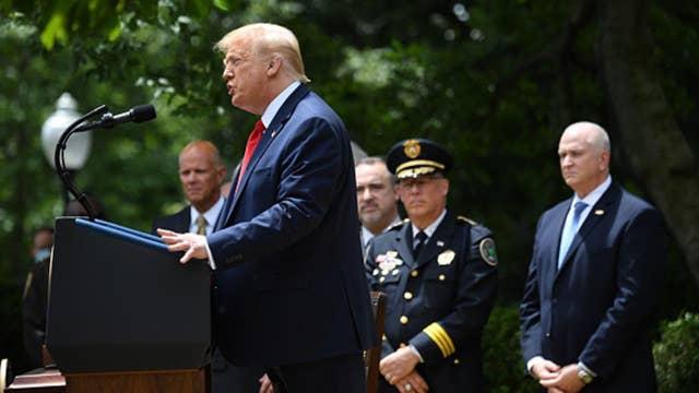 National Association of Police Organizations endorses Trump, ditches Biden