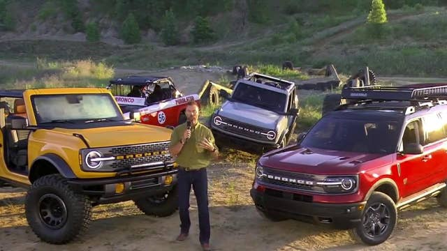 Inside the 2021 Ford Bronco