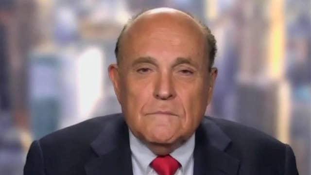 Giuliani rips de Blasio over NYC crime surge: 'The man is a disgrace'