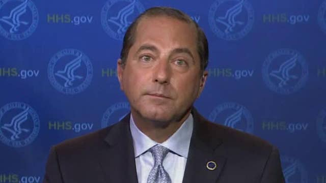 HHS Secretary Azar: 'Tens of millions' of coronavirus vaccine doses will go out this year