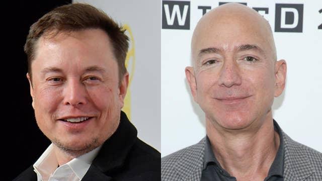 How much is Elon Musk, Jeff Bezos worth?