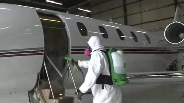 How one private jet company is cleaning planes amid coronavirus