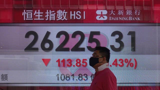 Are investors rushing to Chinese equities because Biden might win?