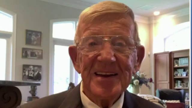 Lou Holtz on sports team names: Why do we have to change everything?