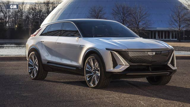GM unveils first all-electric Cadillac SUV