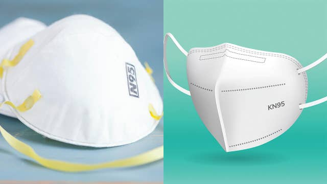 The difference between N95 and KN95 masks